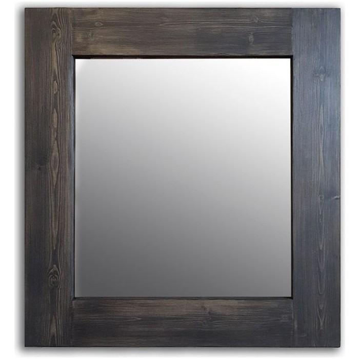 Настенное зеркало Дом Корлеоне Венге 60x60 см