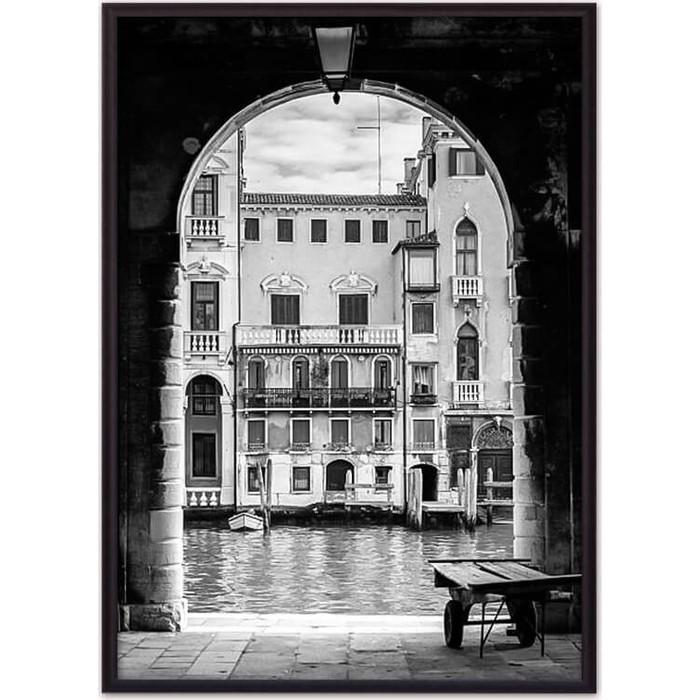 Постер в рамке Дом Корлеоне Венецианский пассаж 30x40 см