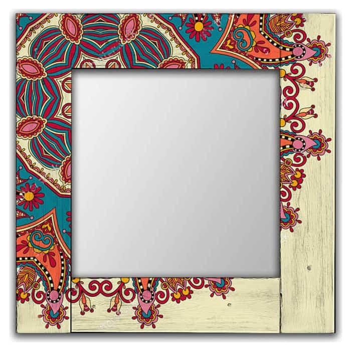 Настенное зеркало Дом Корлеоне Вернон 80x80 см
