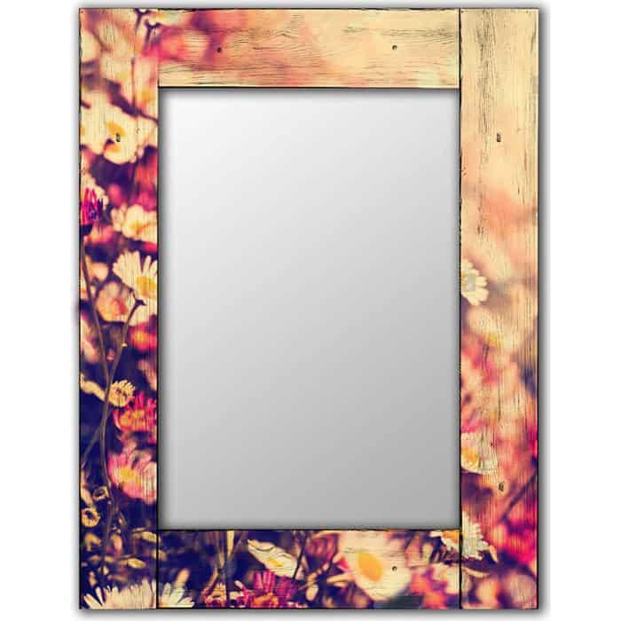 Настенное зеркало Дом Корлеоне Весна 80x80 см
