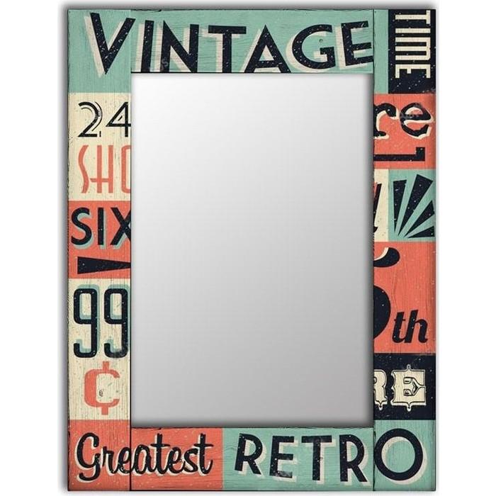 Настенное зеркало Дом Корлеоне Винтаж 75x110 см