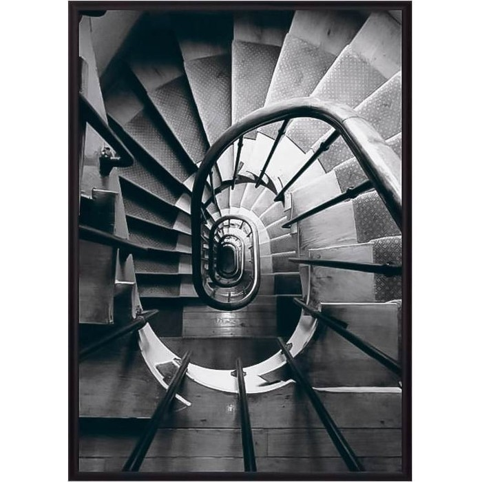 Постер в рамке Дом Корлеоне Винтовая лестница 21x30 см