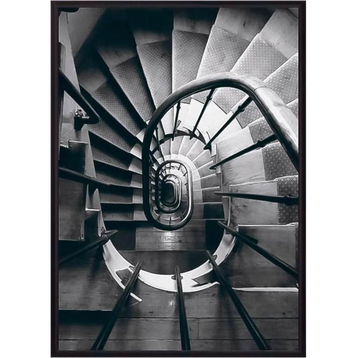 Постер в рамке Дом Корлеоне Винтовая лестница 30x40 см