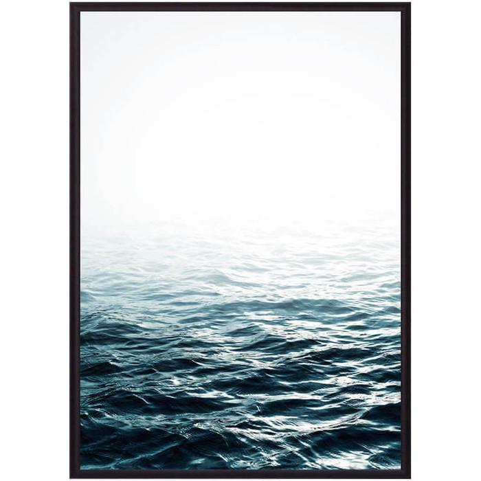 Фото - Постер в рамке Дом Корлеоне Вода 30x40 см постер в рамке дом корлеоне стиль 30x40 см