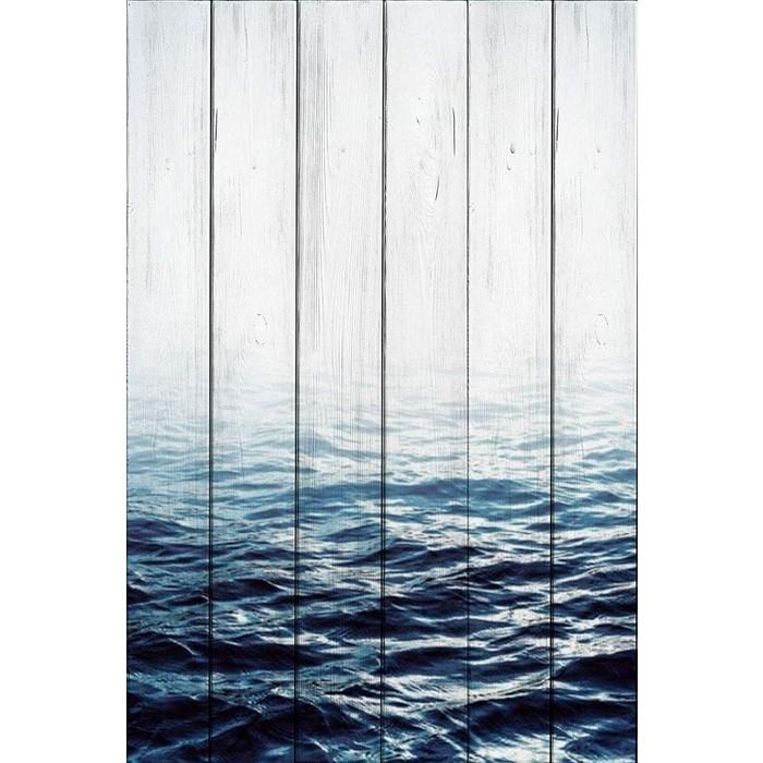 Картина на дереве Дом Корлеоне Вода 100x150 см