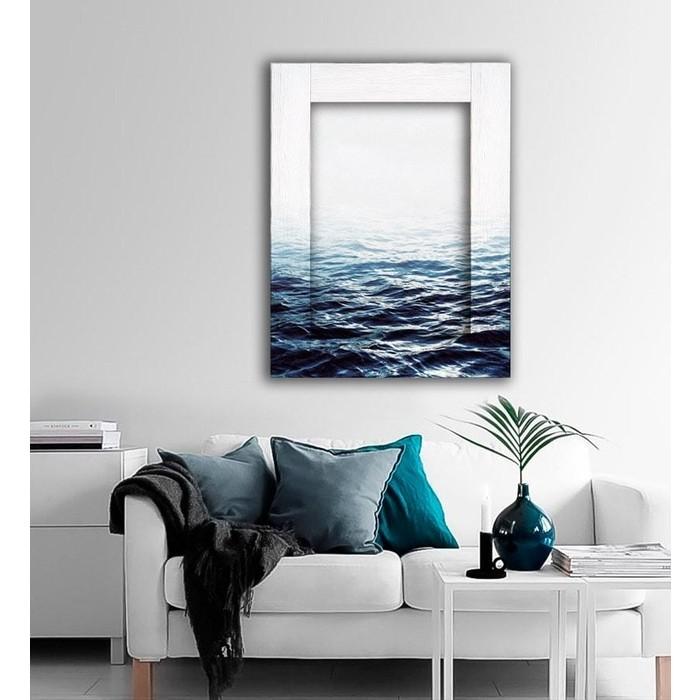 Картина с арт рамой Дом Корлеоне Вода 60x80 см