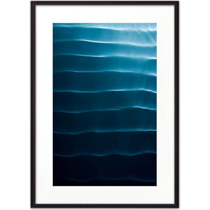 Постер в рамке Дом Корлеоне Водная рябь 21x30 см