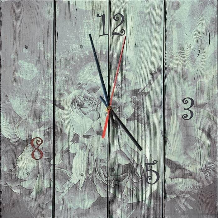 Настенные часы Дом Корлеоне Время цветов 30x30 см