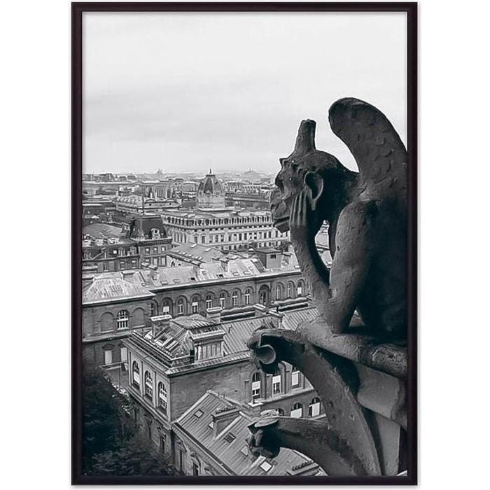 Постер в рамке Дом Корлеоне Гаргулья Нотр-Дам 21x30 см