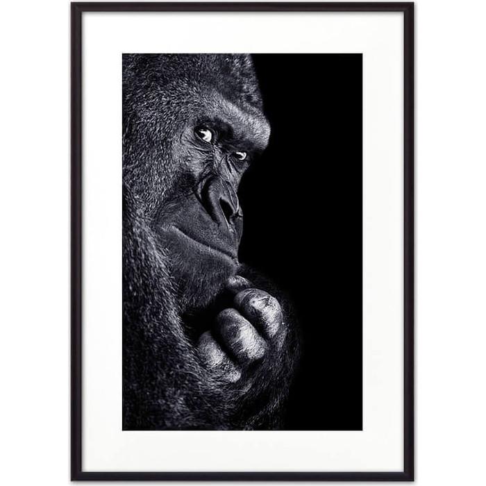 Постер в рамке Дом Корлеоне Горилла 50x70 см фигура decor and gift горилла 6 см бронза о бали