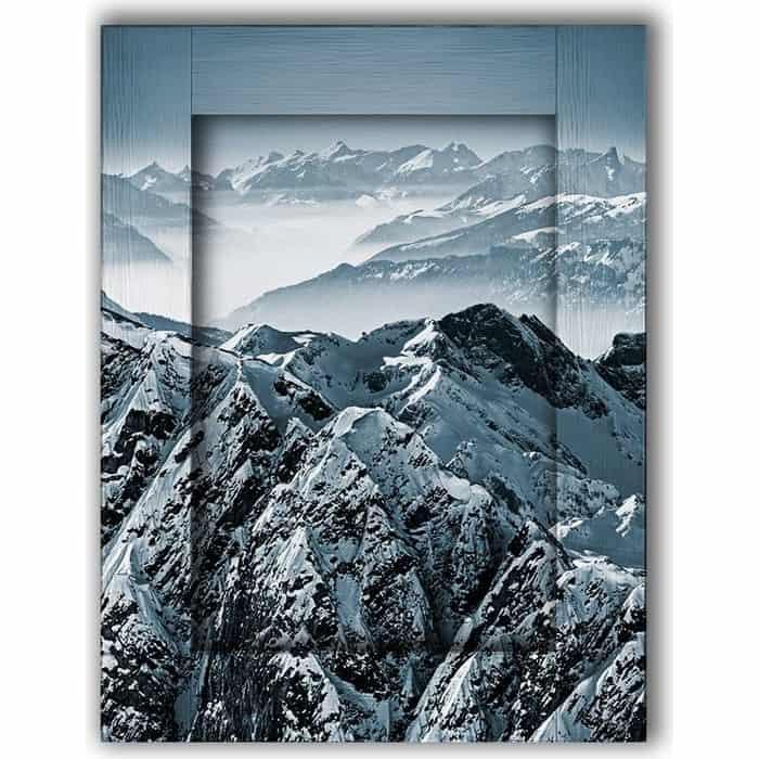 Картина с арт рамой Дом Корлеоне Горы 70x90 см