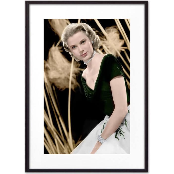 Постер в рамке Дом Корлеоне Грейс Келли 21x30 см