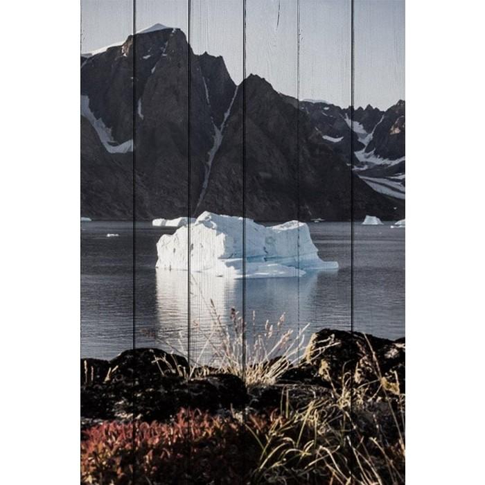 Картина на дереве Дом Корлеоне Гренландия 80x120 см картина на дереве дом корлеоне утро в париже 80x120 см