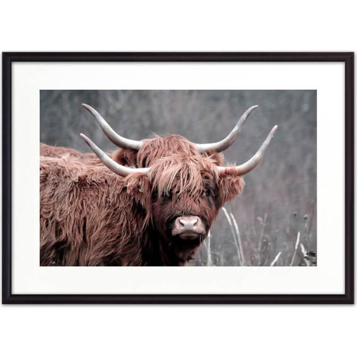 Постер в рамке Дом Корлеоне Две коровы 50x70 см