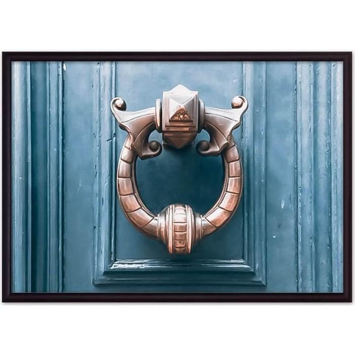 Постер в рамке Дом Корлеоне Дверной молоток 50x70 см