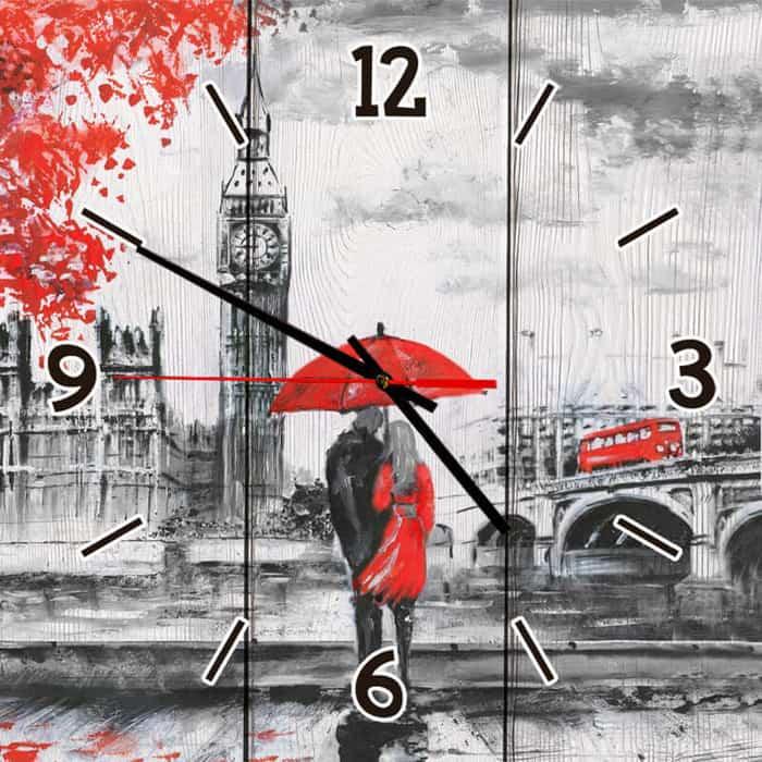 Настенные часы Дом Корлеоне Двое в Лондоне 50x50 см