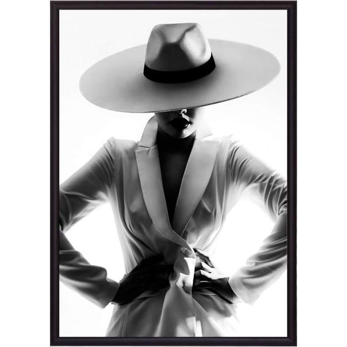 Постер в рамке Дом Корлеоне Девушка в белом 50x70 см постер в рамке дом корлеоне девушка зайчик 50x70 см