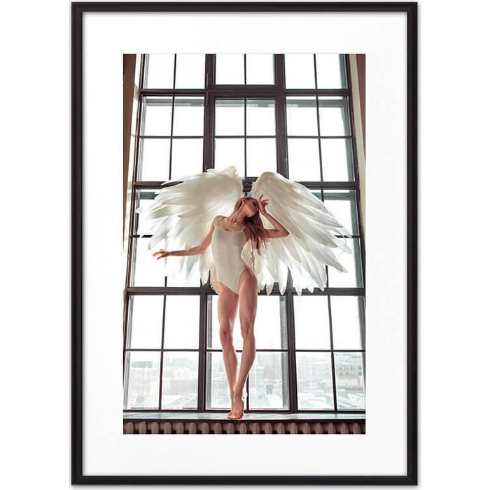 Постер в рамке Дом Корлеоне Девушка-ангел №2 50x70 см