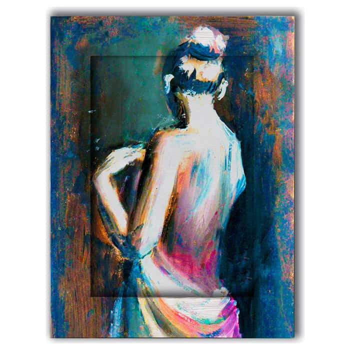 Картина с арт рамой Дом Корлеоне Джульетта 70x90 см