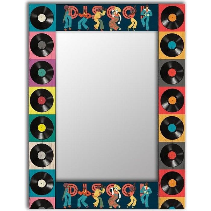 Фото - Настенное зеркало Дом Корлеоне Диско 75x140 см настенное зеркало дом корлеоне вода 75x140 см