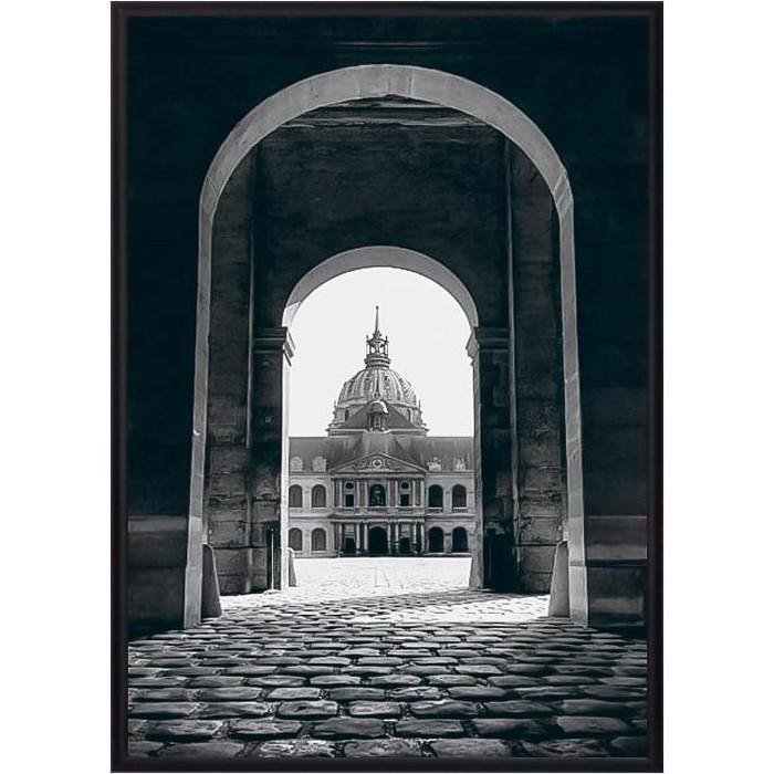 Постер в рамке Дом Корлеоне Инвалидов Париж 40x60 см