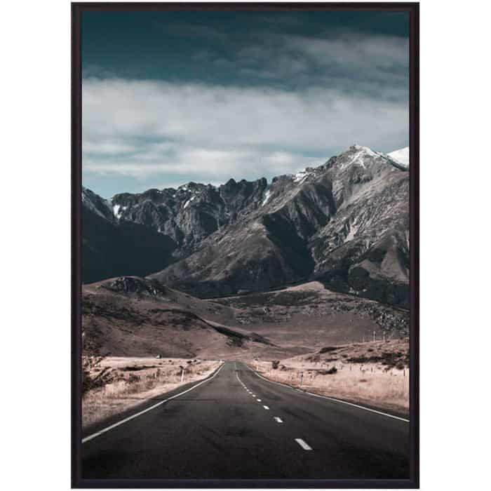 Постер в рамке Дом Корлеоне Дорога горы 50x70 см