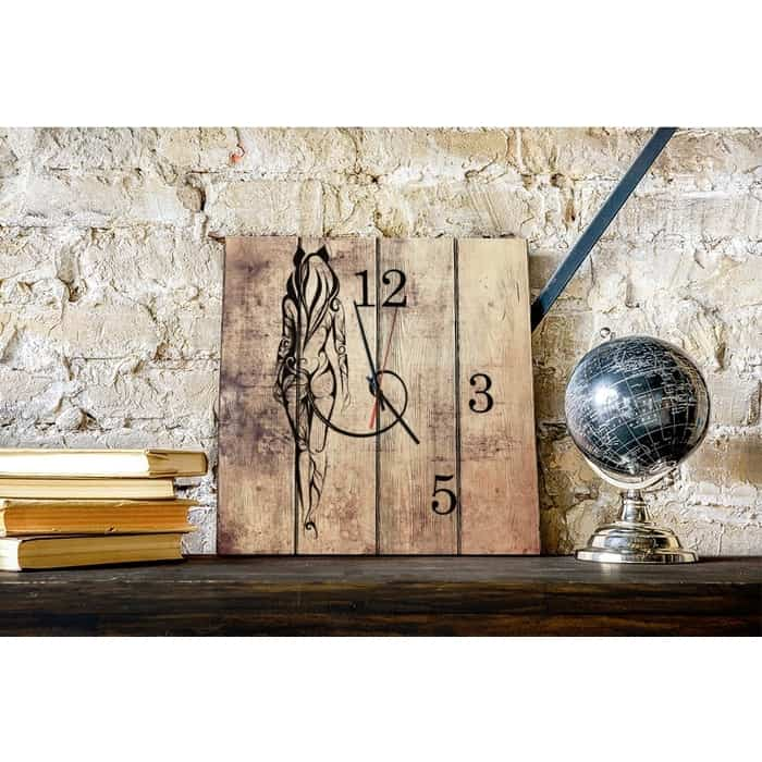 Настенные часы Дом Корлеоне Женщина-кошка 50x50 см