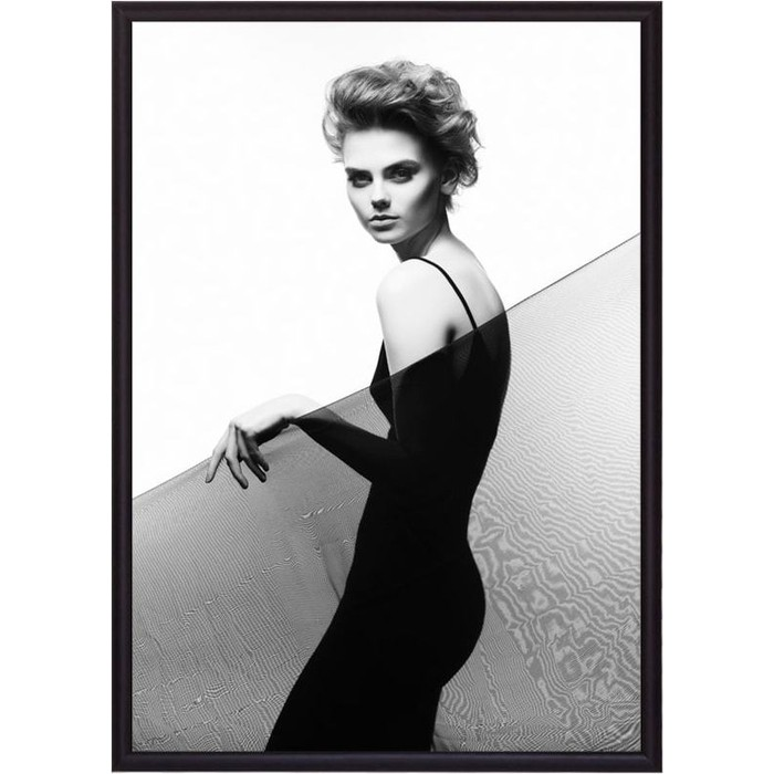 Постер в рамке Дом Корлеоне За стеклом 21x30 см