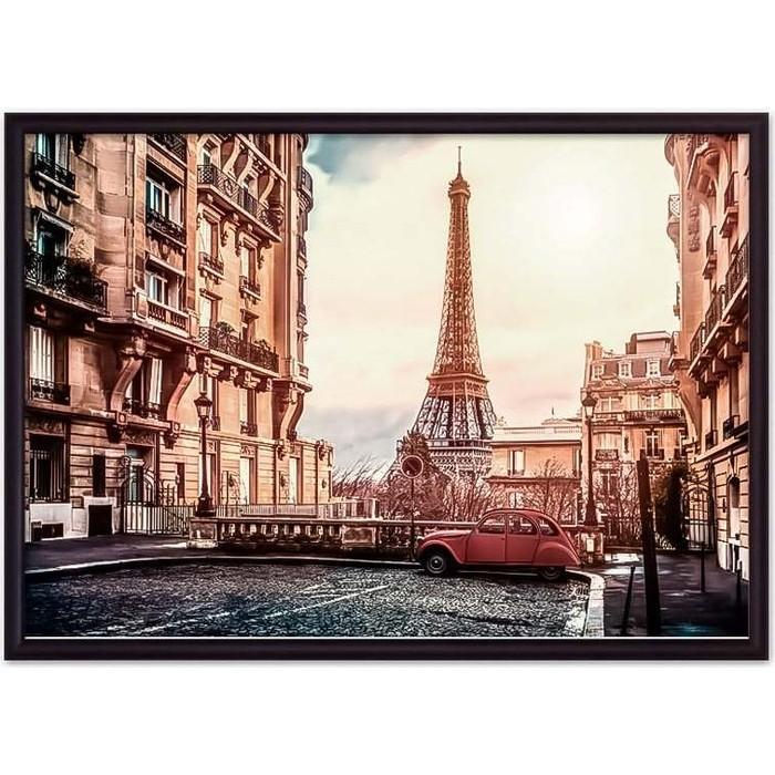 Постер в рамке Дом Корлеоне Закат в Париже 50x70 см постер в рамке дом корлеоне в париже 50x70 см