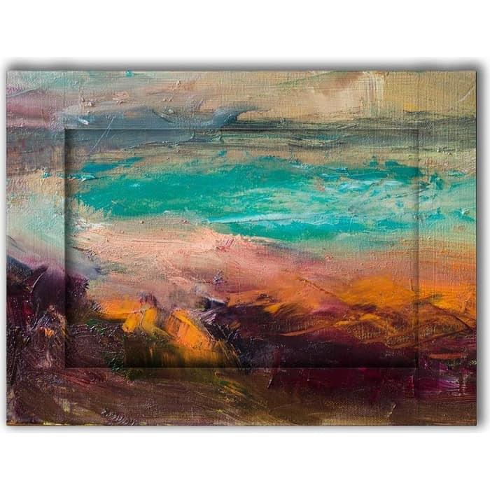 Картина с арт рамой Дом Корлеоне Залив 45x55 см картина с арт рамой дом корлеоне нотр дам 45x55 см