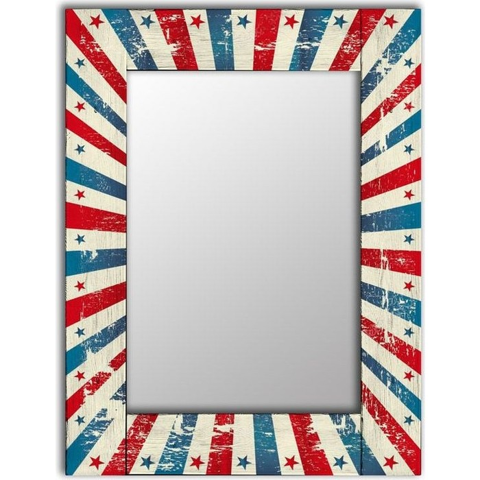 Настенное зеркало Дом Корлеоне Звезда 60x60 см