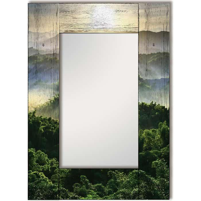 Настенное зеркало Дом Корлеоне Зеленая долина 60x60 см настенное зеркало дом корлеоне зеленая долина 55x55 см