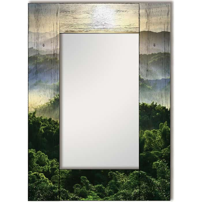 Настенное зеркало Дом Корлеоне Зеленая долина 75x110 см настенное зеркало дом корлеоне зеленая долина 55x55 см