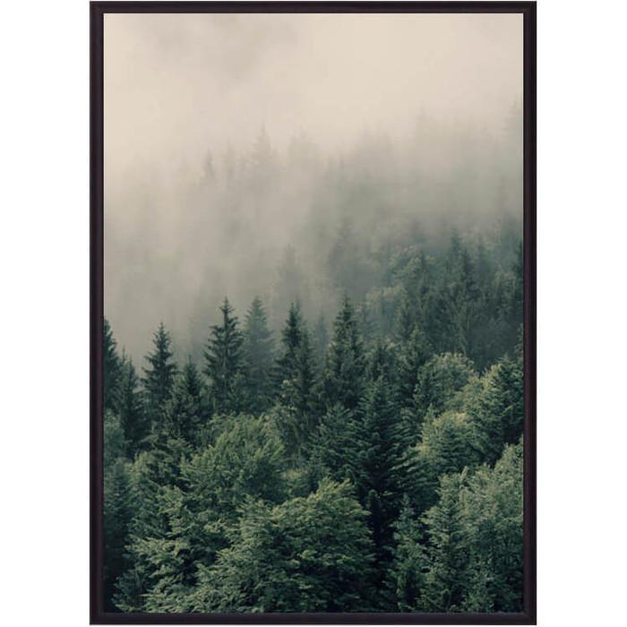 Постер в рамке Дом Корлеоне Зеленый лес 21x30 см