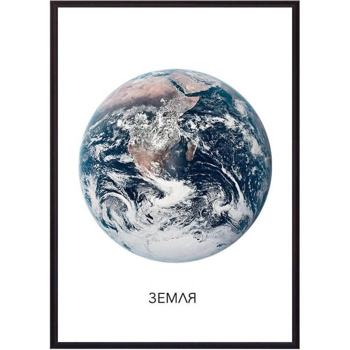 Постер в рамке Дом Корлеоне Земля 50x70 см