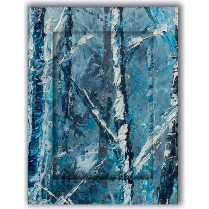 Картина с арт рамой Дом Корлеоне Зима 60x80 см