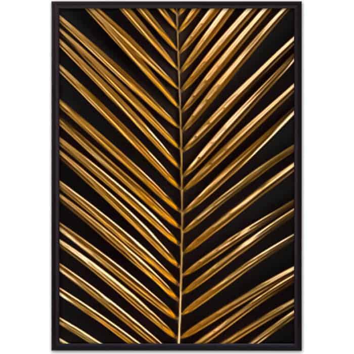 Постер в рамке Дом Корлеоне Золотая пальмовая ветвь 40x60 см