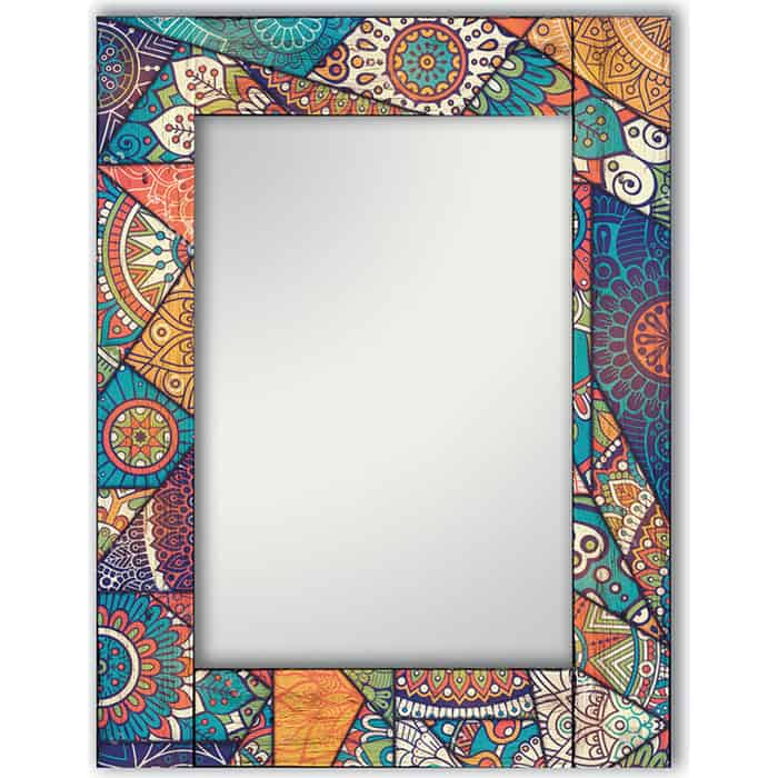Настенное зеркало Дом Корлеоне Калейдоскоп 60x60 см