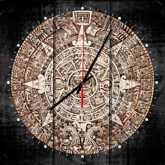Настенные часы Дом Корлеоне Календаль Майя 60x60 см настенные часы дом корлеоне лодочники в венеции 60x60 см