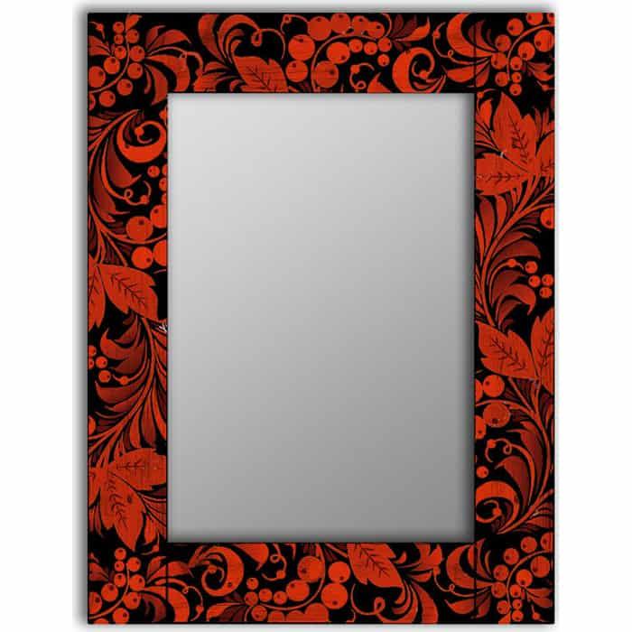 Настенное зеркало Дом Корлеоне Калина 60x60 см