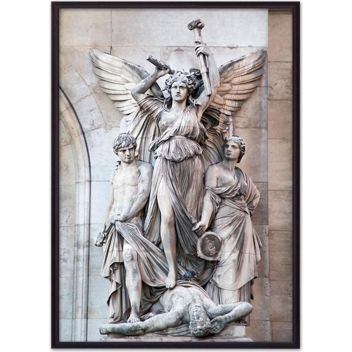 Постер в рамке Дом Корлеоне Каменная богиня 50x70 см