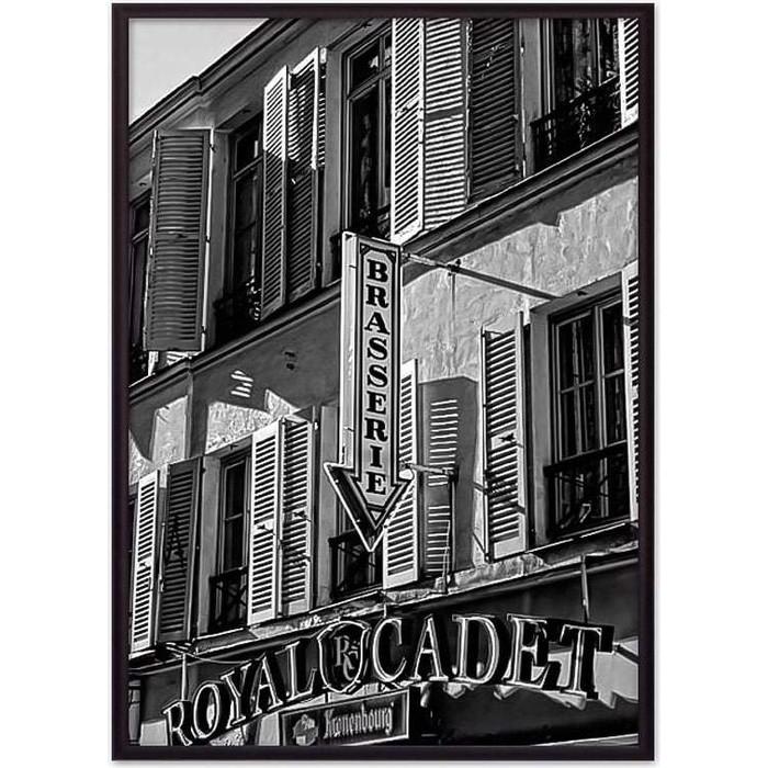 Постер в рамке Дом Корлеоне Кафе Париж 30x40 см