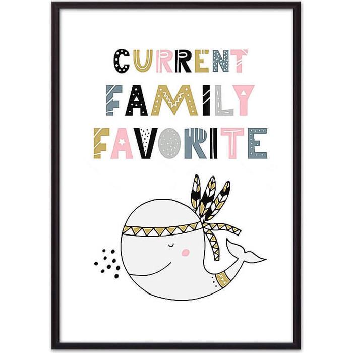 Постер в рамке Дом Корлеоне Кит Family 30x40 см
