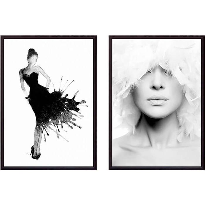 Набор из 2-х постеров Дом Корлеоне Коллаж Fashion №14 21х30 см 2 шт.