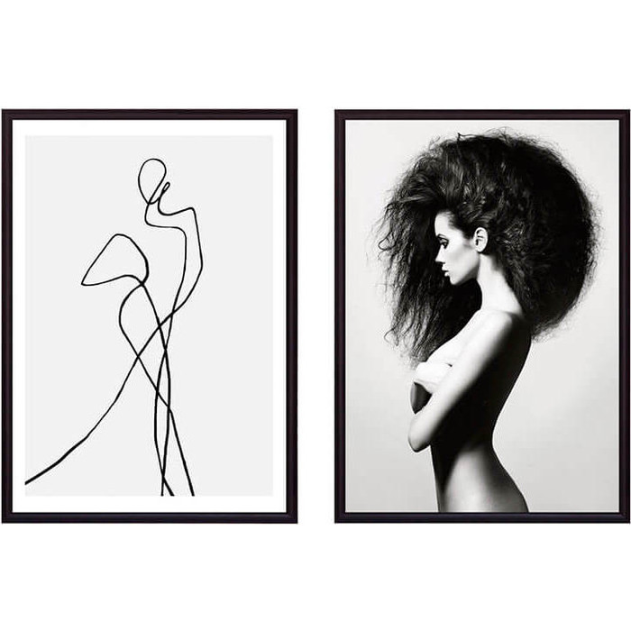 Набор из 2-х постеров Дом Корлеоне Коллаж Fashion №18 30х40 см 2 шт.