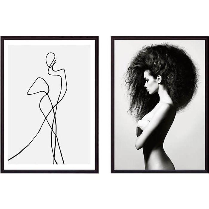 Набор из 2-х постеров Дом Корлеоне Коллаж Fashion №18 40х60 см 2 шт.