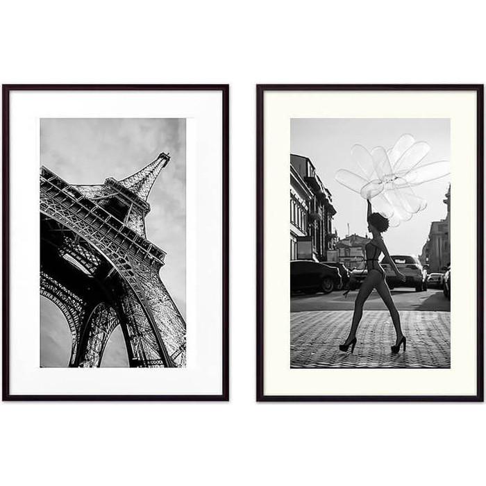 Набор из 2-х постеров Дом Корлеоне Коллаж Fashion №24 50х70 см 2 шт.