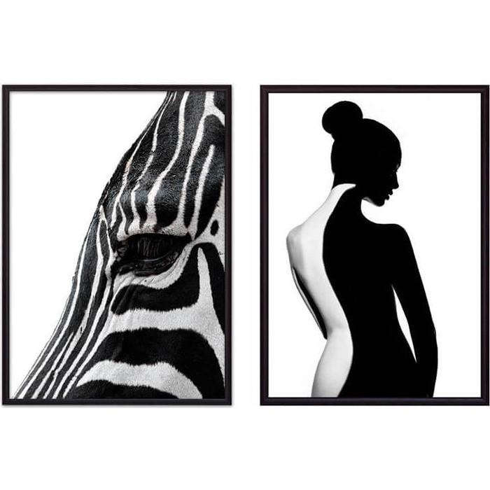 Набор из 2-х постеров Дом Корлеоне Коллаж Fashion №36 50х70 см 2 шт.