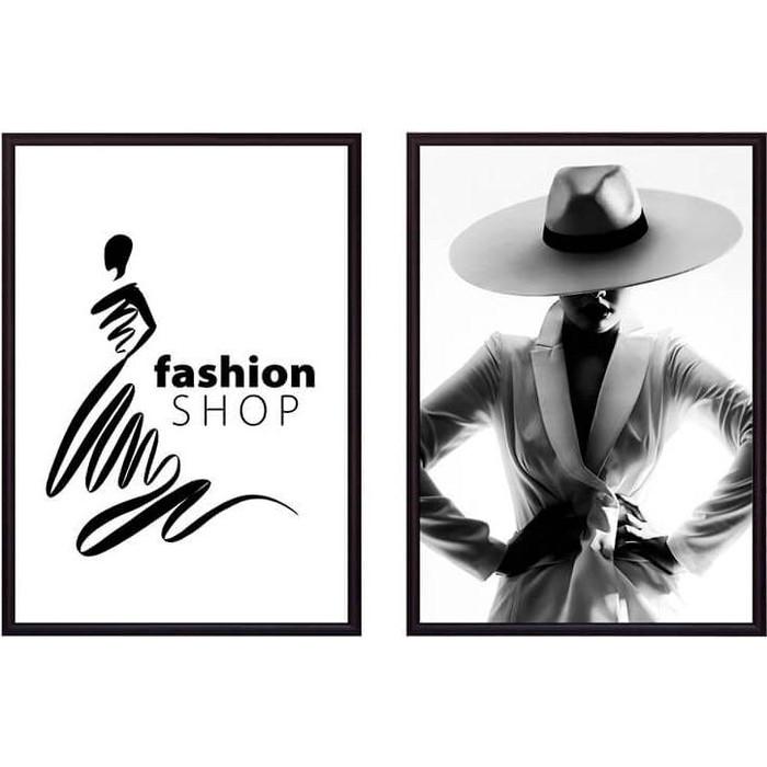 Набор из 2-х постеров Дом Корлеоне Коллаж Fashion №4 50х70 см 2 шт.