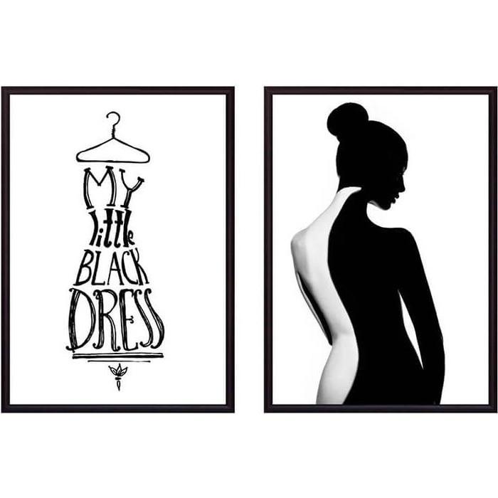 Набор из 2-х постеров Дом Корлеоне Коллаж Fashion №43 30х40 см 2 шт.